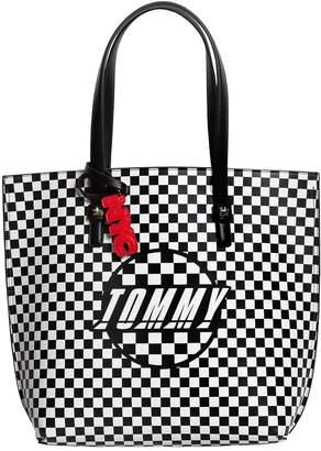 Tommy Hilfiger Gigi Hadid Speed Faux Leather Tote Bag