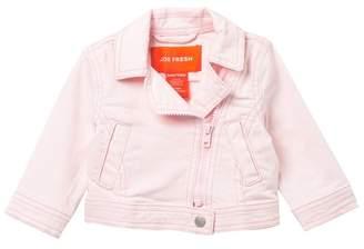 Joe Fresh Denim Moto Jacket (Baby Girls)