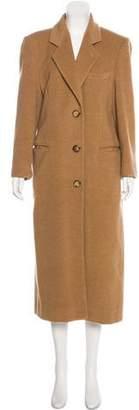 Giorgio Armani Camel Long Coat