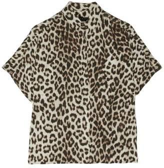 Rag & Bone Saunders Short-Sleeve Blouse
