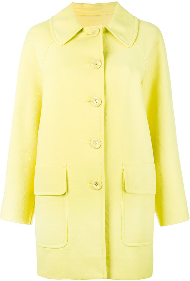 MoschinoBoutique Moschino single breasted coat