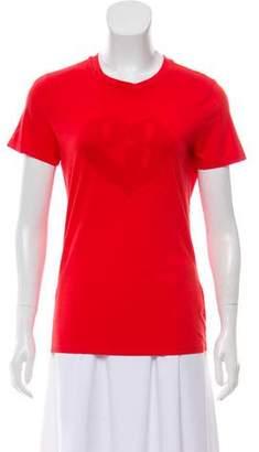 Emporio Armani Graphic Short Sleeve Top