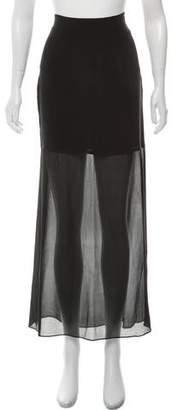 Alexander Wang Mesh Maxi Skirt