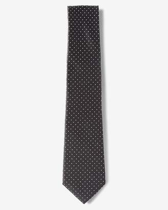 Express Small Dot Narrow Silk Tie