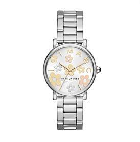 Marc Jacobs Classic Silver Watch