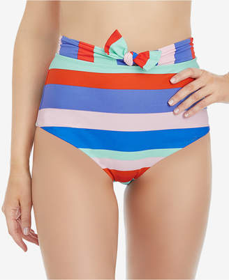 Raisins Juniors' Cabana Girl Miami High-Waist Bikini Bottoms Women's Swimsuit