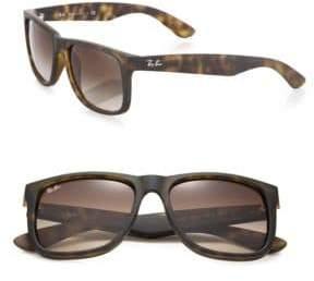 Ray-Ban 55MM Nylon Rectangle Sunglasses