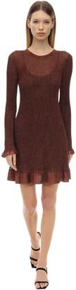 M Missoni Lurex Viscose Knit Mini Dress