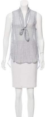 Bella Dahl Printed Sleeveless Top