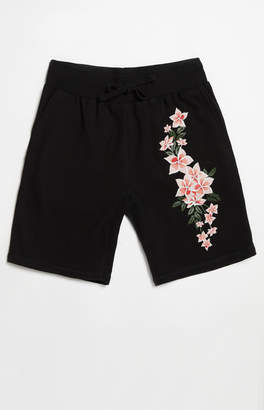 Young & Reckless Orchid Sweat Shorts