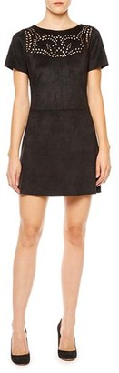 Women's Sanctuary Alexia Lasercut Faux Suede Dress $109 thestylecure.com