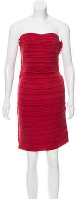 Lanvin Pleated Bodycon Dress