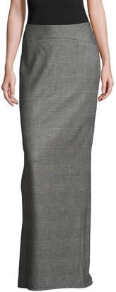 Escada Wool Floor Length Skirt