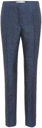 Golden Goose Armida metallic slim-fit trousers