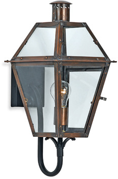 Bed Bath & Beyond Imported Rue De Royal 1 Copper Outdoor Light Fixture