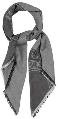 Burberry Wool & Silk-Blend Scarf w/ Tags
