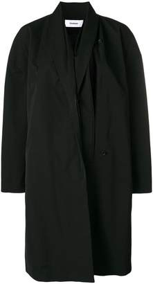 Chalayan split front oversized coat