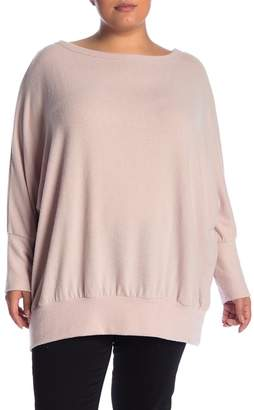 Melrose and Market Boatneck Dolman Sleeve Top (Plus Size)