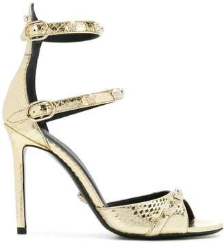 Versace metallic open-toe sandals
