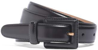 Brooks Brothers Square Covered Buckle Belt