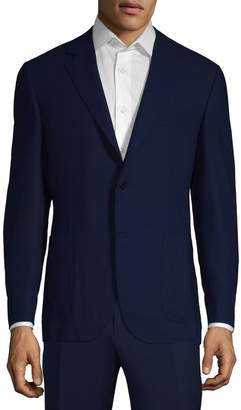Canali Men's Solid Wool Jacket