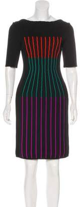 Fendi Knee-Length Sheath Dress