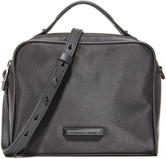 KENDALL + KYLIE Lucy Nylon Box Bag $150 thestylecure.com
