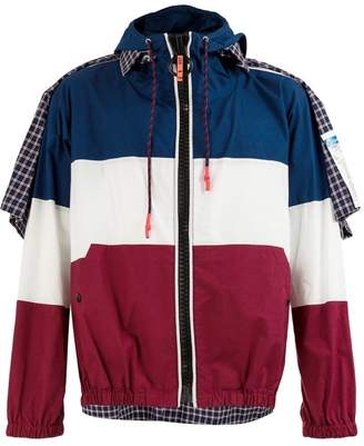 Puma Maison Yasuhiro layered colour block jacket