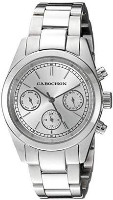 Cabochon Women's 'De Ce Monde' Swiss Quartz Stainless Steel Casual Watch