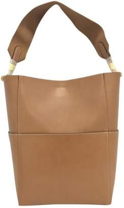 Celine Seau Sangle leather handbag