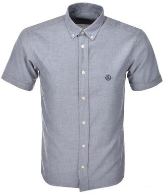 Club Regular Short Sleeve Shirt Navy