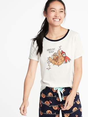 Old Navy EveryWear Holiday-Graphic Tee for Women