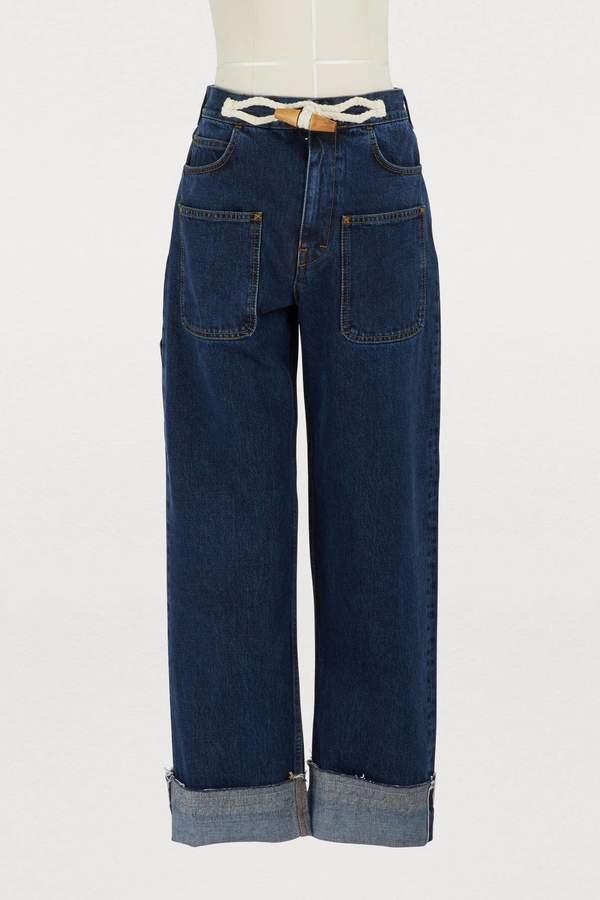 Jw Anderson Duffle detail jeans