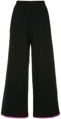 GUILD PRIME cropped wide leg trousers