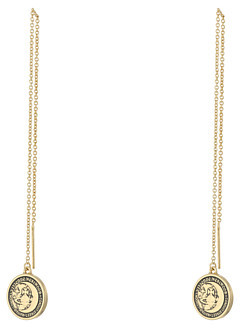 Vivienne WestwoodVivienne Westwood Titania Small Medal Chain Earrings