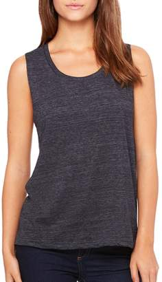 B.ella Canvas Ladies' Flowy Scoop Muscle Tank