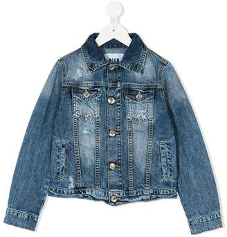 MSGM flap pockets denim jacket