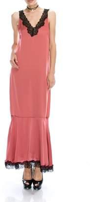 Dress Forum Lace Trimmed Dress