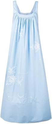 Stella McCartney embroidered long dress