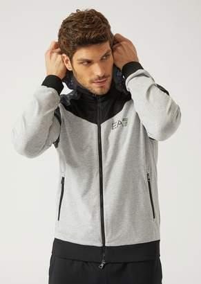 Emporio Armani Ea7 Full Zip Sweatshirt With Hood