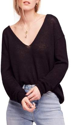 Free People Gossamer V-Neck Sweater