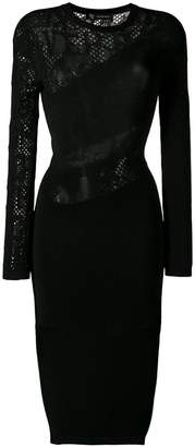 Versace knitted fitted dress