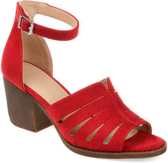 3d976f6eef6 Journee Collection Red Women's Sandals - ShopStyle