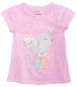 First Impressions Baby Girls Spring Graphic T-Shirt, Created for Macy's