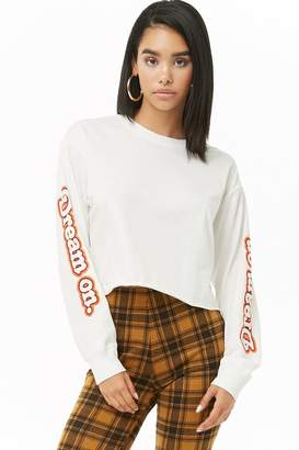 Forever 21 Dream On Graphic Tee