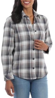 Lee Riders Women's Fleece Lined Flannel Shirt