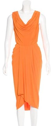 Rachel Roy Pleated Midi Dress $80 thestylecure.com
