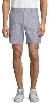 Sovereign Code Surf City Palm Cotton Shorts