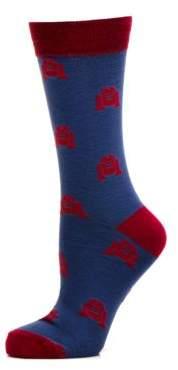 Cufflinks, Inc. Star Wars R2D2 Socks