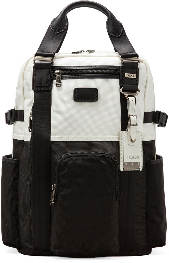 Tumi Alpha Bravo Lejeune Backpack Tote
